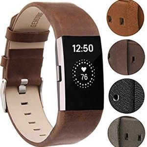 Chocolate Brown Band for Fitbit Charge 2